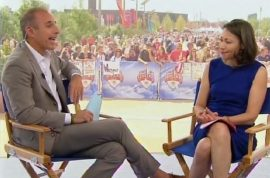 Ann Curry fired: Reunites with Matt at London. Refuses to engage him.