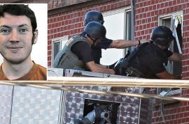 James Holmes is being evicted. Explosives and murders violated lease.