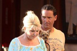 Oh my! Ivana Trump holidays with her new Italian boyfriend in St Tropez.