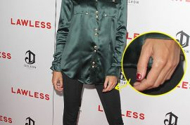 Liberty Ross steps out once again without her wedding ring.