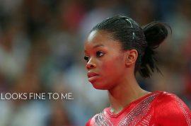 Olympic Gold Medalist gymnast Gabby Douglas' hair is deemed offensive.