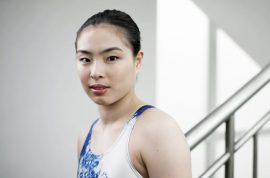 Chinese Olympic diver's family waits until she wins gold medal before telling her about all the family deaths and illnesses in the last year.