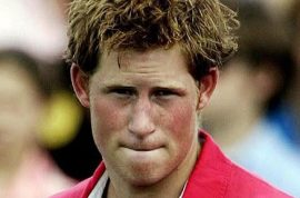 Naked Prince Harry. Don't expect him to suffer any punishment…