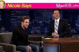Robert Pattinson tells Jimmy Kimmel: 'Feels homeless…'