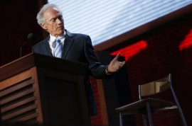 Clint Eastwood last night gave one heck of a speech for Mitt Romney.