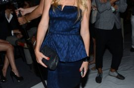 Socialite Tinsley Mortimer is kind of already over Fashion week thank you very much.