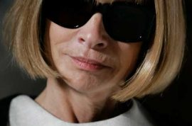 Don't expect Anna Wintour and Carine Roitfeld to be sitting together front row during Fashion week.