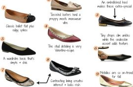 The one inch pump shoe is all you really need ladies. A winner at Fashion week…