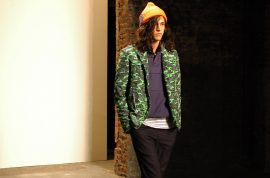 """General Idea's 2013 Spring Collection. """"The Last LumberJack"""", at Eyebeam."""