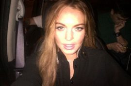 Lindsay Lohan wants Tom Cruise to know she had nothing to do with that Vanity Fair story.
