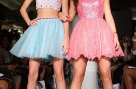 Oh my! Kendal and Kylie Jenner do runway modeling too!
