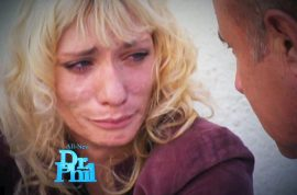 Former America's Next Top model contestant is now a meth addict. Runs away on the set of Dr Phil…