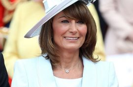 Karl Lagerfeld reckons Carole Middleton is sexier than Pippa and Kate.