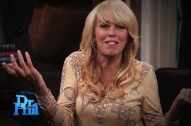 Dina Lohan makes a mess of things on Dr Phil show.