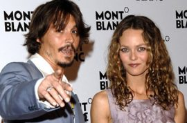 Johnny Depp's ex girlfriend Vanessa Paradis now dating French millionaire.