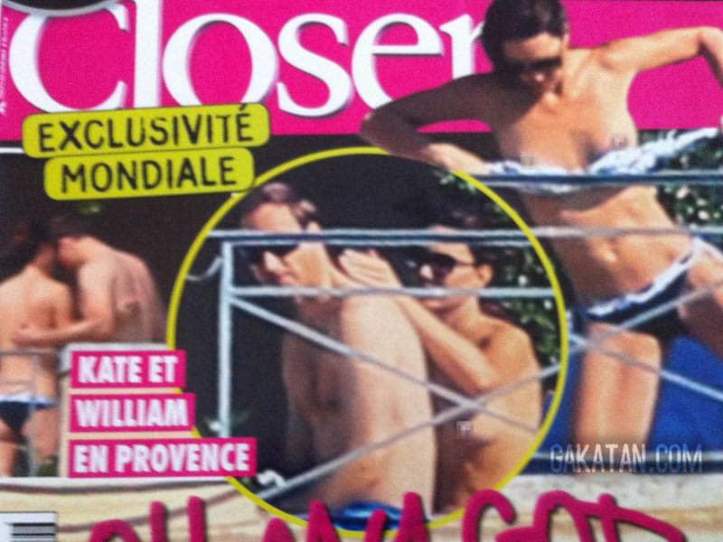 Kate Middleton topless