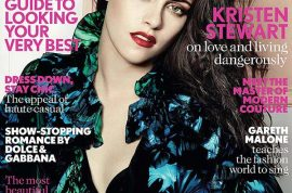 Kristen Stewart tells British Vogue she doesn't know who she is after affair.