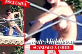 Kate Middleton topless pictures published on Italy's Chi magazine. Sales sluggish…