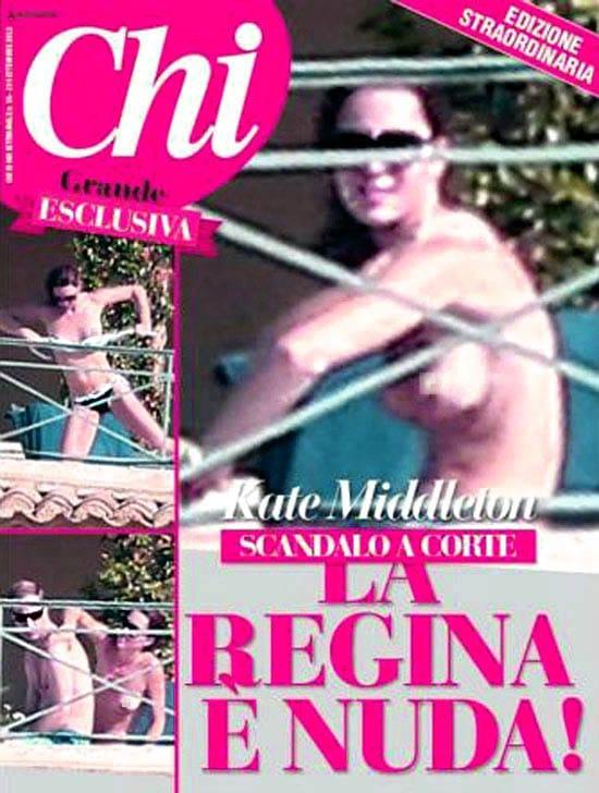 Kate Middleton naked