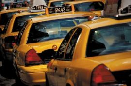 Yikes! NYC taxi fares set to rise 17% from today on.