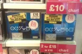 Chris Brown still outselling despite HMV 'women beater' advisory warning.