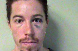 Olympic Gold medalist Shaun White charged with being an obnoxious drunk.