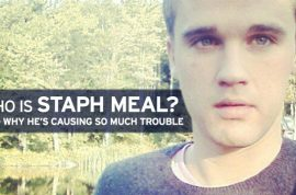 Blogger Joshua Scott Albert of Staph Meal would like to tell you how he self imploded.