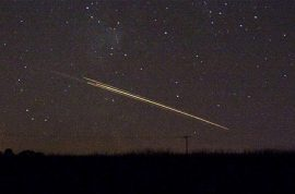 Video: Meteor shower over North England sends twitter into overload.