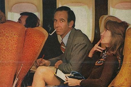 Drunk airline passenger