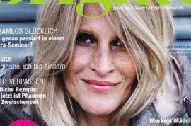 German women's fashion magazine Brigitte to reverse its 'no model's' policy.