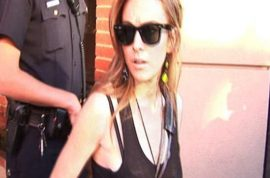 Lindsay Lohan accuses Republican staffer of assaulting her at W Hotel. Charges dropped.