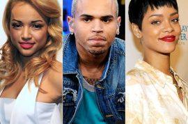Chris Brown dumps Karrueche Tran so he can resume his 'friendship' with Rihanna.