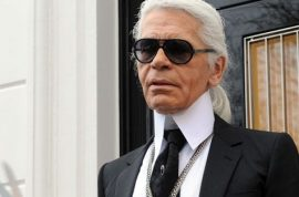 Oh really? Karl Lagerfeld reckons French president François Hollande is an idiot.