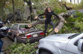 Brazil's Nana Gouvêa wants to share with you her latest modeling shoot post Hurricane Sandy.