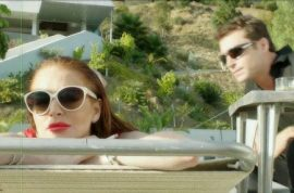 The Canyons starring Lindsay Lohan and James Deen, moral decay in Los Angeles. Art following Lindsay's life?
