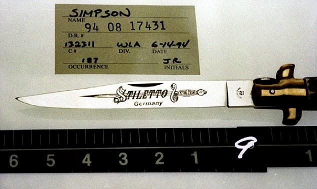 Oj Simpson Said To Be Shopping Knife He Used To Kill