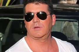 So whatever happened to Simon Cowell's face? Looking fuller and fat?
