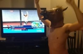 Hurricane Horse man has now been identified. Planned stunt.
