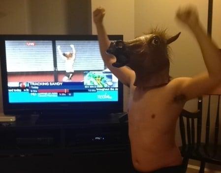Hurrican Horse man aka Jimmy Kruyne