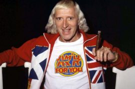 Jimmy Savile accused of rape and sexual abuse of over 25 children. Family dismantles his grave…