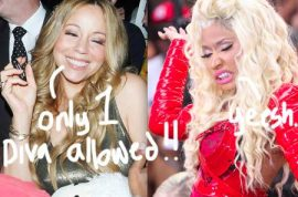 And them bixches Nicki Minaj and Mariah Carey really do hate each other…