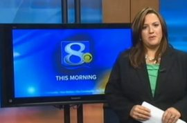 News anchor responds on air to viewers who think she's too fat for TV.