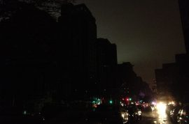 Hurricane Sandy. A pictorial of NYC flooded and blacked out.