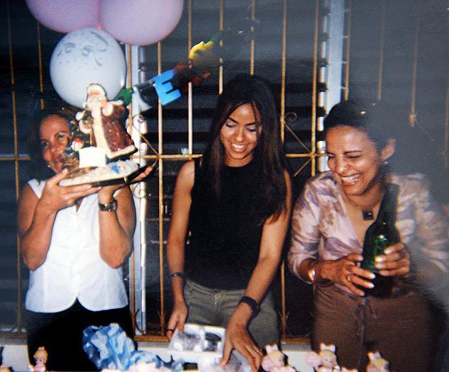 Yoselyn Ortega to the far right.