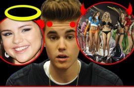 Justin Bieber not sure whether to go back to Selena Gomez or bang Victoria Secret models.