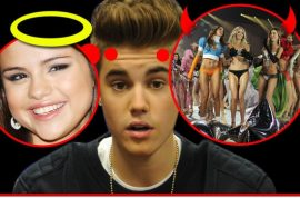 Justin Bieber not sure whether to go back to Selena Gomez or bang Victoria Secret models.