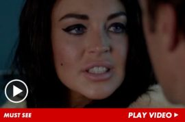 Lindsay Lohan's role in Liz and Dick reminds twitter why no one hires her as an actress anymore.