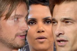 Halle Berry's ex, Gabriel Aubry and her new boyfriend, Olivier Martinez get into punch up.