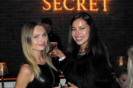 Victoria's Secret: And these were the hawt bixches that turned up to the after party…