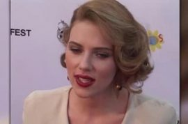 Oh really? Scarlett Johansson spotted making out with new boyfriend….